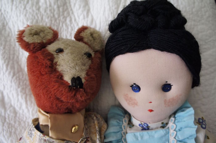 Algernon_the_Fox_and_Jemima_the_Doll