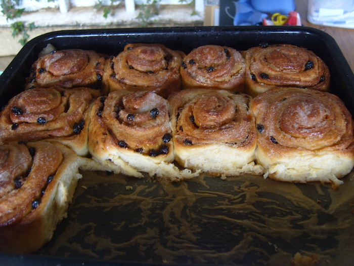 Home Made Chelsea Buns