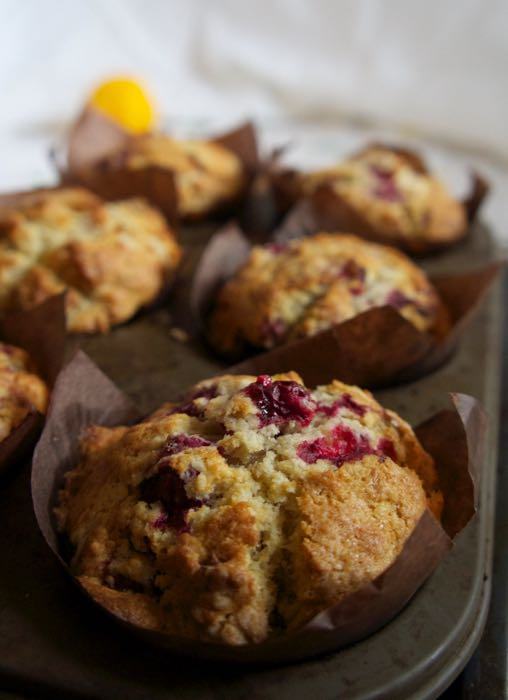 Raspberry_and_Cranberry Muffins