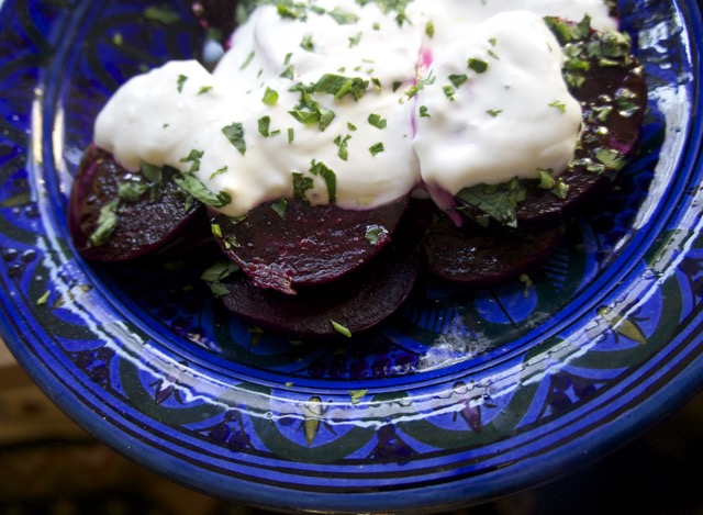 BEETROOT SALAD WITH GREEK YOGHURT