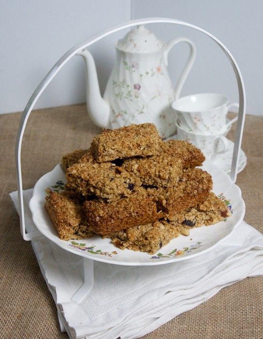 COCONUT FLAPJACKS