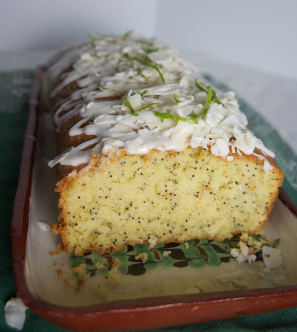 LEMON & LIME, COCONUT AND POPPY SEED CAKE