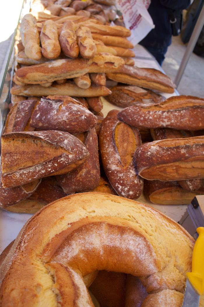 Bread in Najac Market