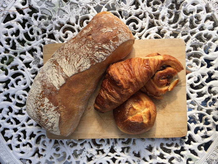 French pave and pastries