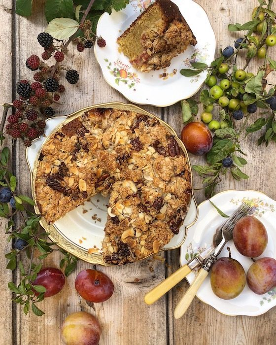Streusel Plum Cake